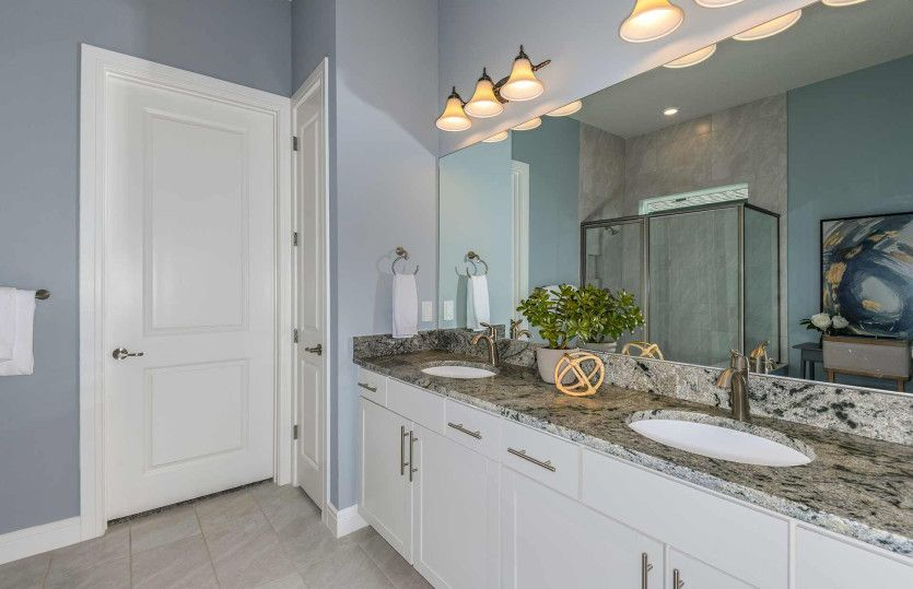 Bathroom featured in the Prestige By Del Webb in Ocala, FL
