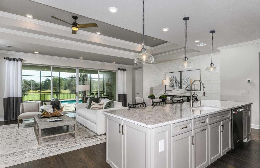 Living Area featured in the Stardom By Del Webb in Ocala, FL