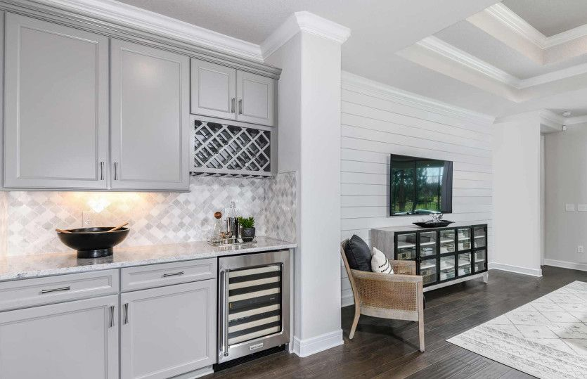 Living Area featured in the Stardom By Del Webb in Tampa-St. Petersburg, FL