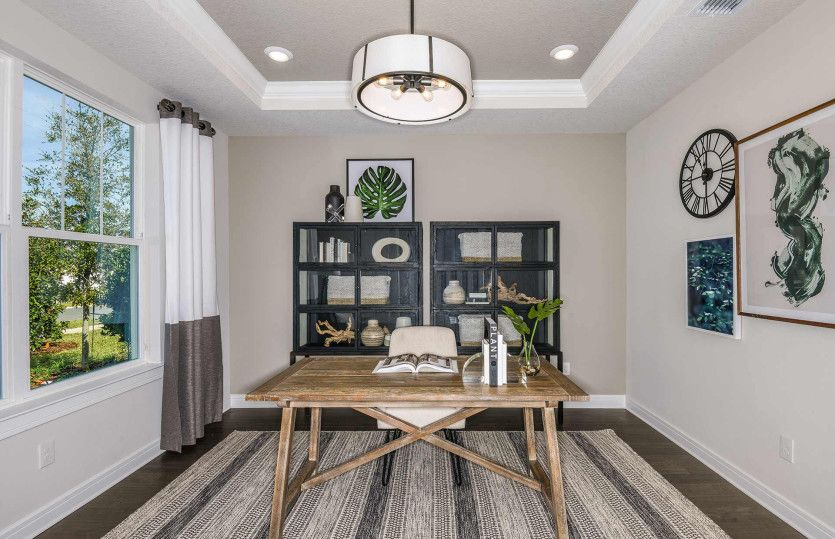 Living Area featured in the Stellar Grand By Del Webb in Tampa-St. Petersburg, FL