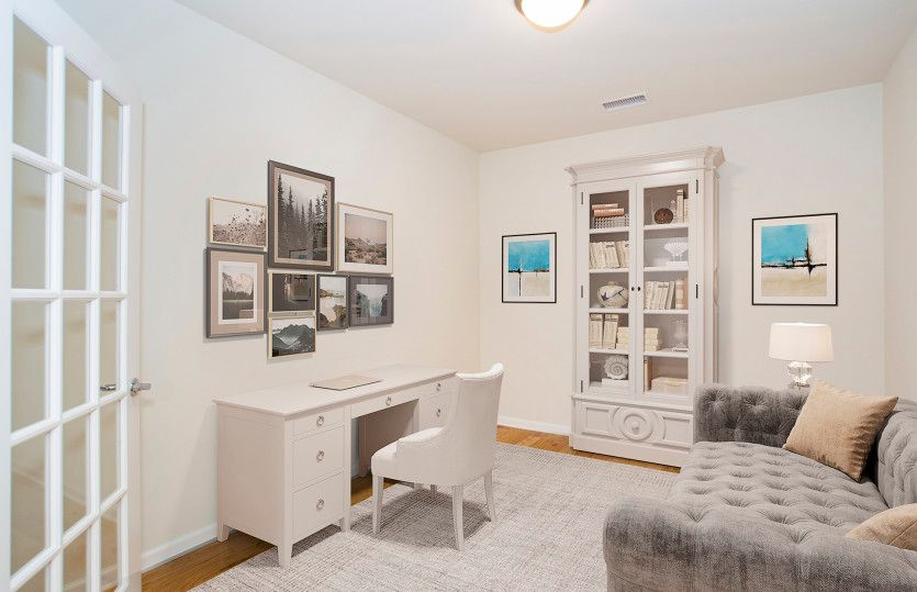 Living Area featured in the Fenton By Del Webb in Worcester, MA