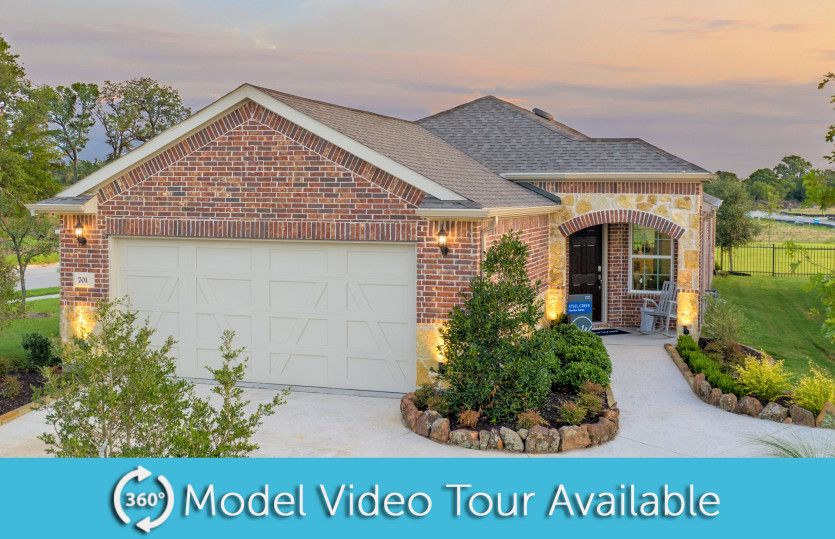 Exterior featured in the Steel Creek By Del Webb in Dallas, TX