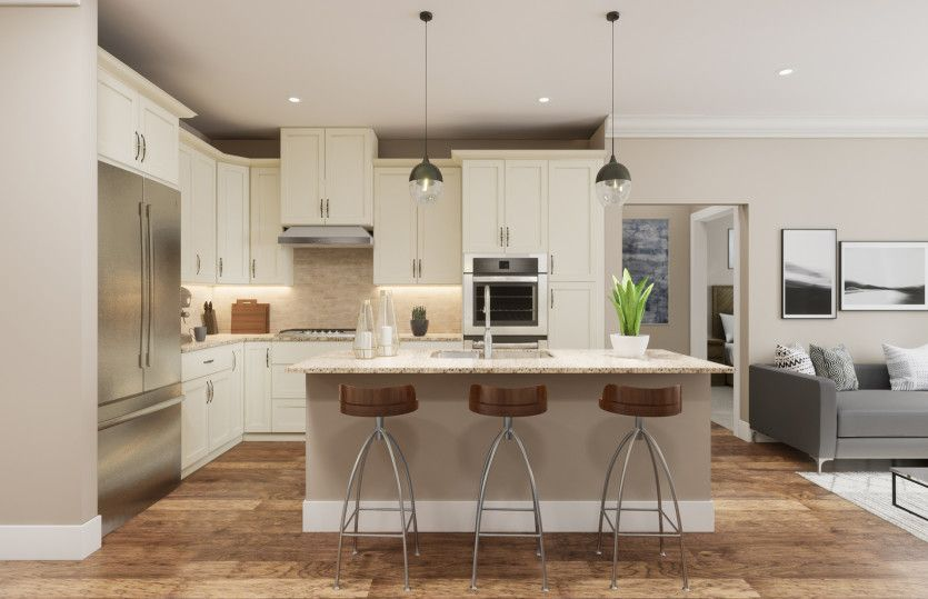 Kitchen featured in the Emerson By Del Webb in Morris County, NJ