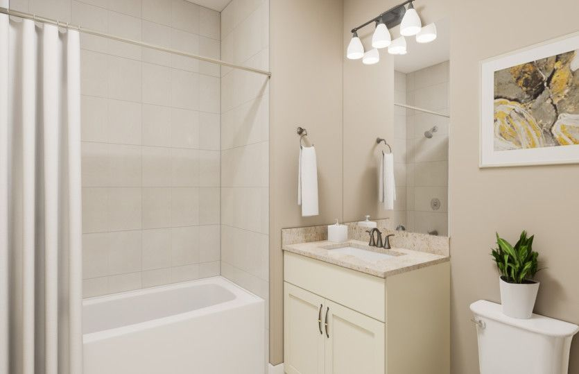 Bathroom featured in the Emerson By Del Webb in Morris County, NJ