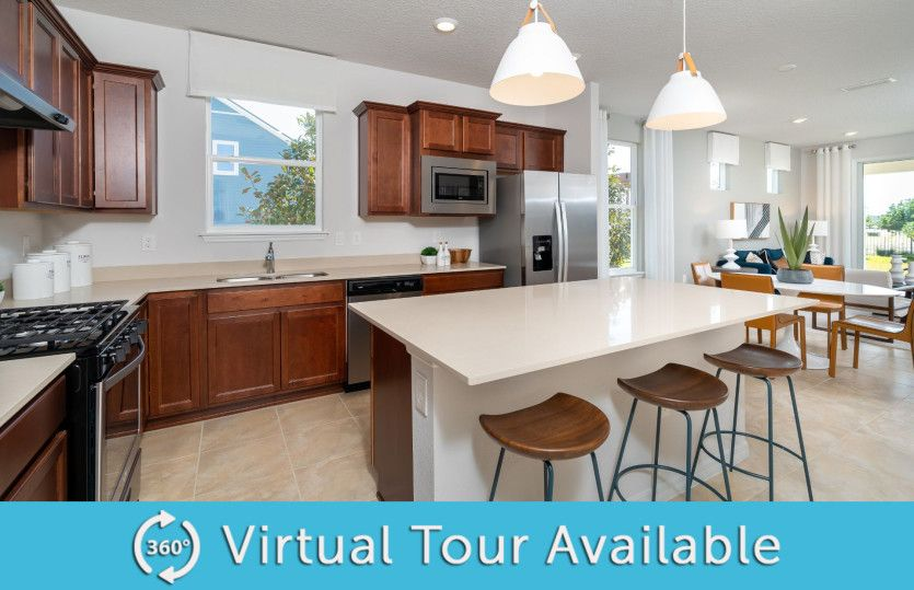 Kitchen featured in the Contour By Del Webb in Hilton Head, SC
