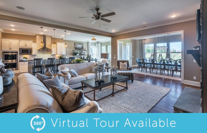Living Area featured in the Dunwoody Way By Del Webb in Charlotte, SC