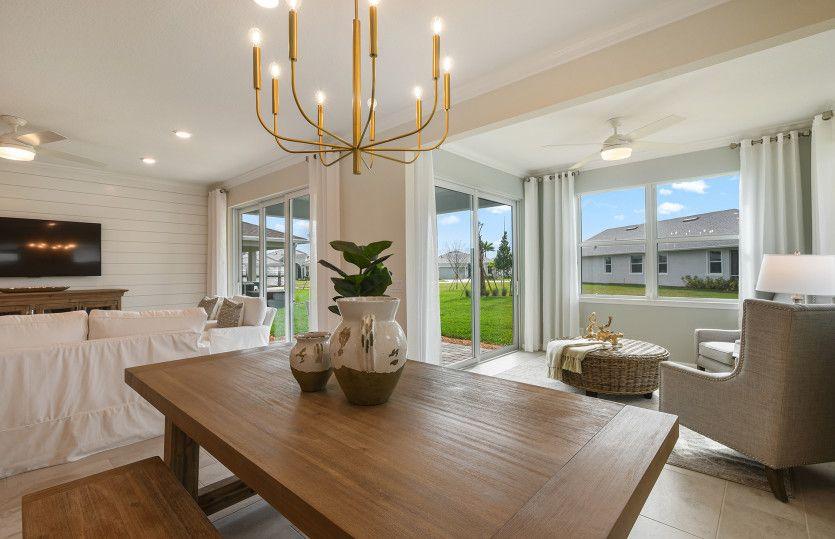 Living Area featured in the Prosperity By Del Webb in Hilton Head, SC
