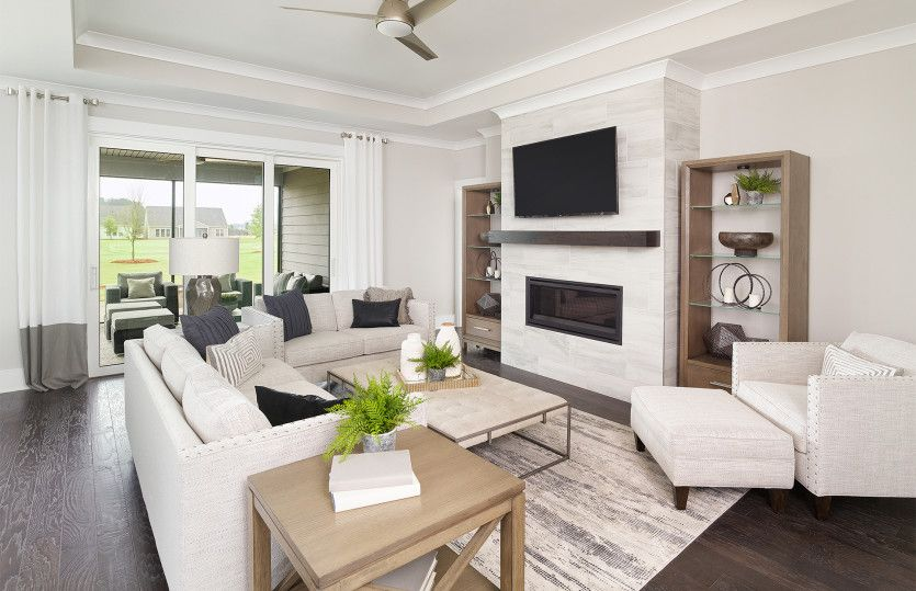 Living Area featured in the Prestige By Del Webb in Hilton Head, SC