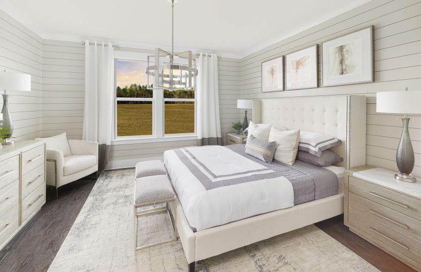 Bedroom featured in the Prestige By Del Webb in Hilton Head, SC