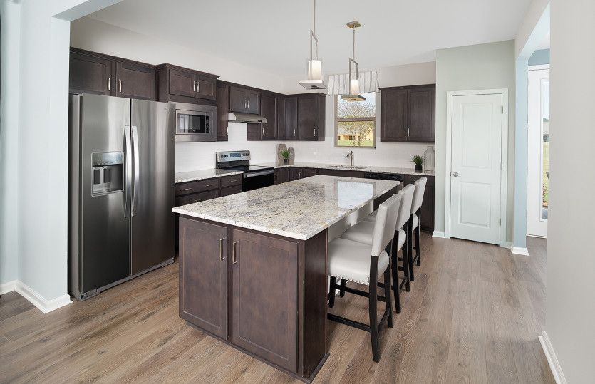Kitchen featured in the Compass By Del Webb in Hilton Head, SC