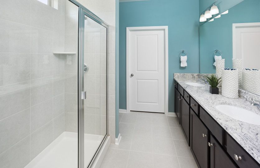 Bathroom featured in the Compass By Del Webb in Hilton Head, SC