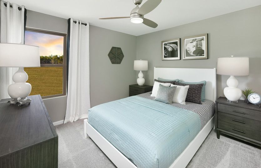 Bedroom featured in the Compass By Del Webb in Hilton Head, SC