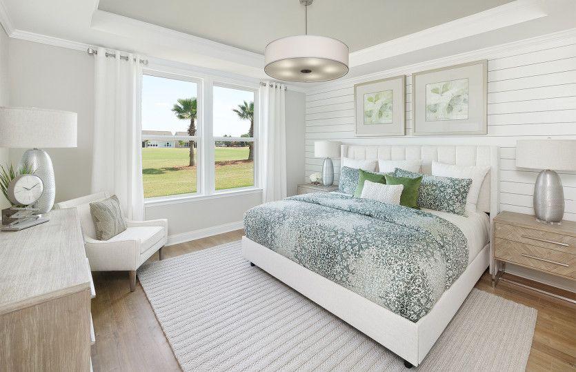 Bedroom featured in the Hallmark By Del Webb in Hilton Head, SC