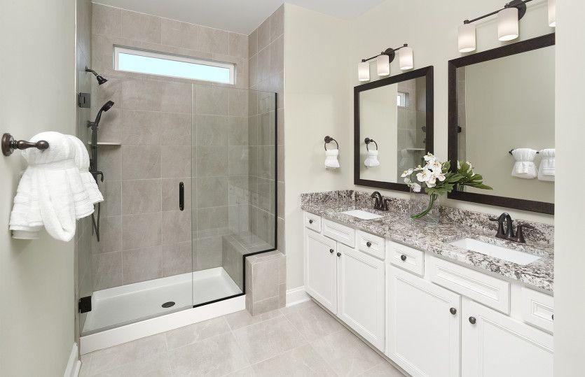Bathroom featured in the Hallmark By Del Webb in Hilton Head, SC