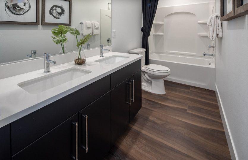 Bathroom featured in the Gardengate By Del Webb in Las Vegas, NV