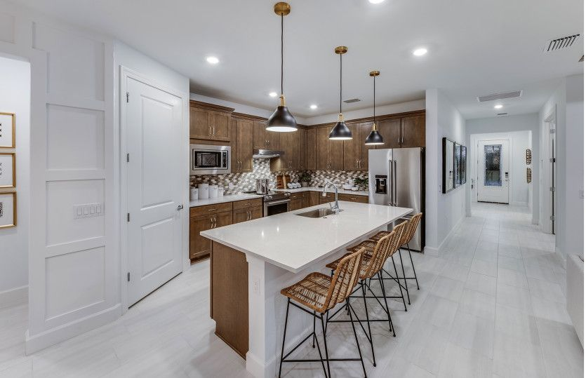 Kitchen featured in the Mystique By Del Webb in Naples, FL