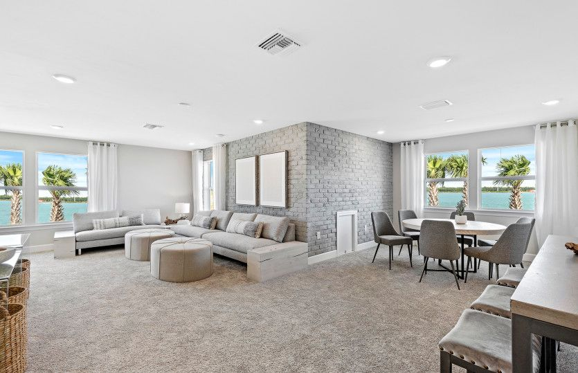 Living Area featured in the Mystique By Del Webb in Naples, FL