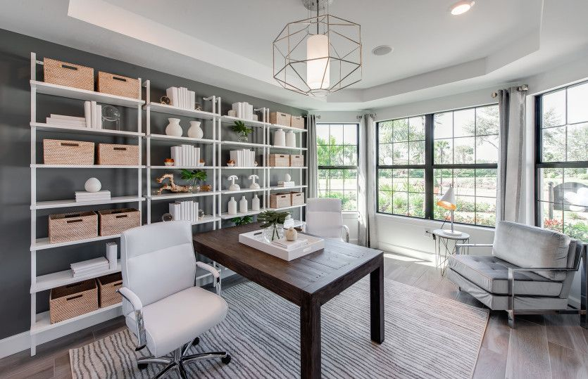 Living Area featured in the Stardom By Del Webb in Naples, FL