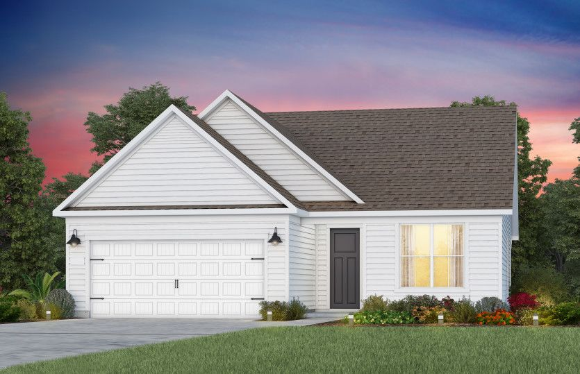 Exterior featured in the Mystique By Del Webb in Raleigh-Durham-Chapel Hill, NC