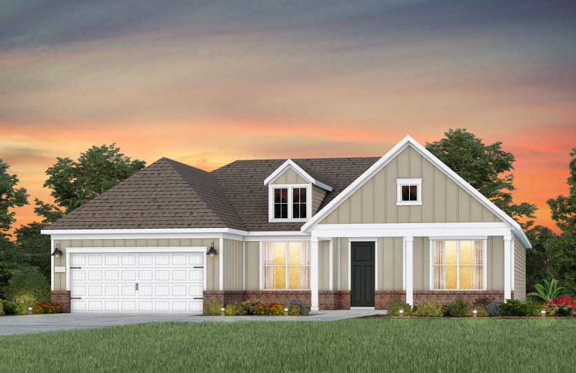 Exterior featured in the Stardom By Del Webb in Raleigh-Durham-Chapel Hill, NC