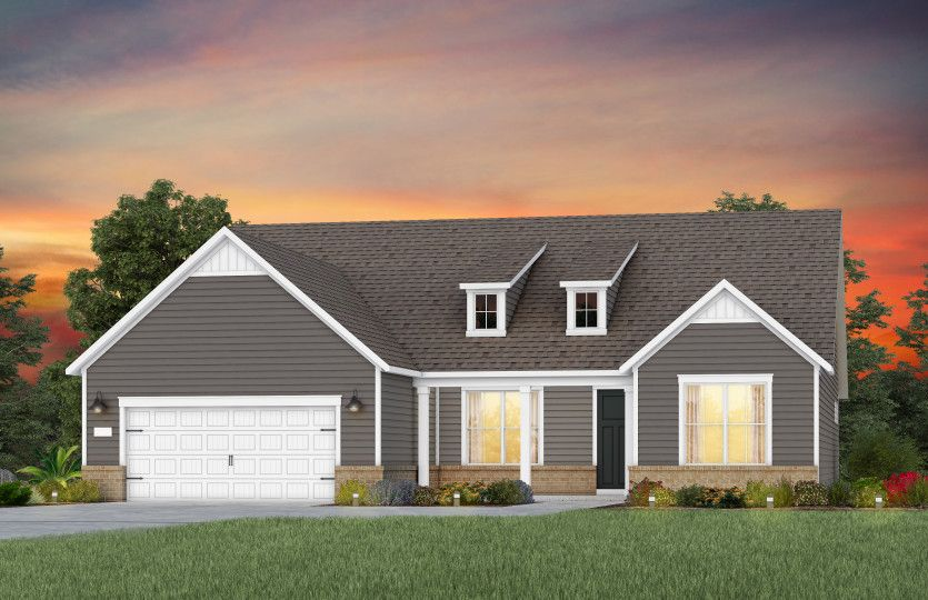 Exterior featured in the Stellar By Del Webb in Raleigh-Durham-Chapel Hill, NC