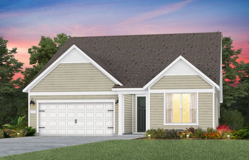 Exterior featured in the Palmary By Del Webb in Raleigh-Durham-Chapel Hill, NC