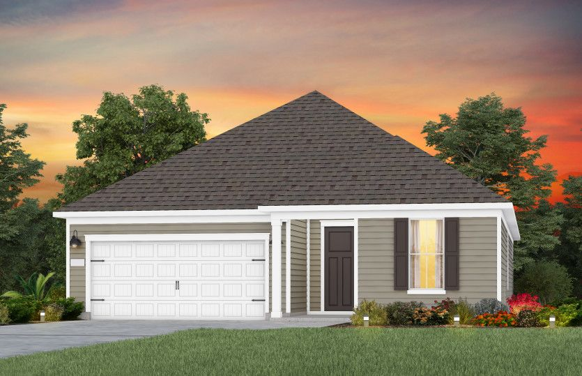 Exterior featured in the Prestige By Del Webb in Raleigh-Durham-Chapel Hill, NC