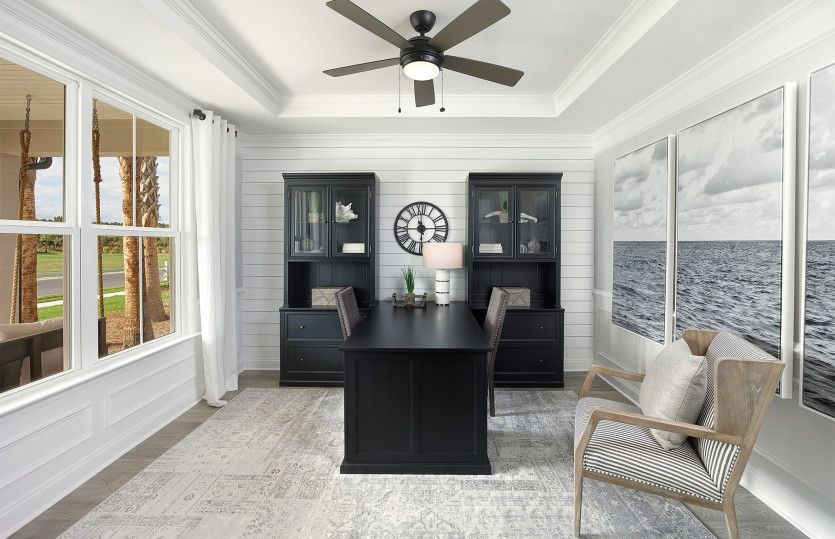Living Area featured in the Stardom By Del Webb in Hilton Head, SC