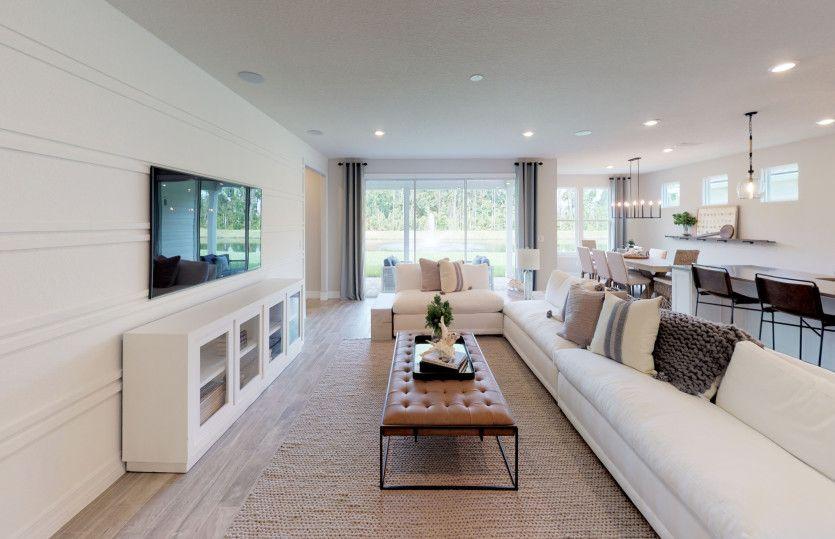 Living Area featured in the Stellar By Del Webb in Hilton Head, SC