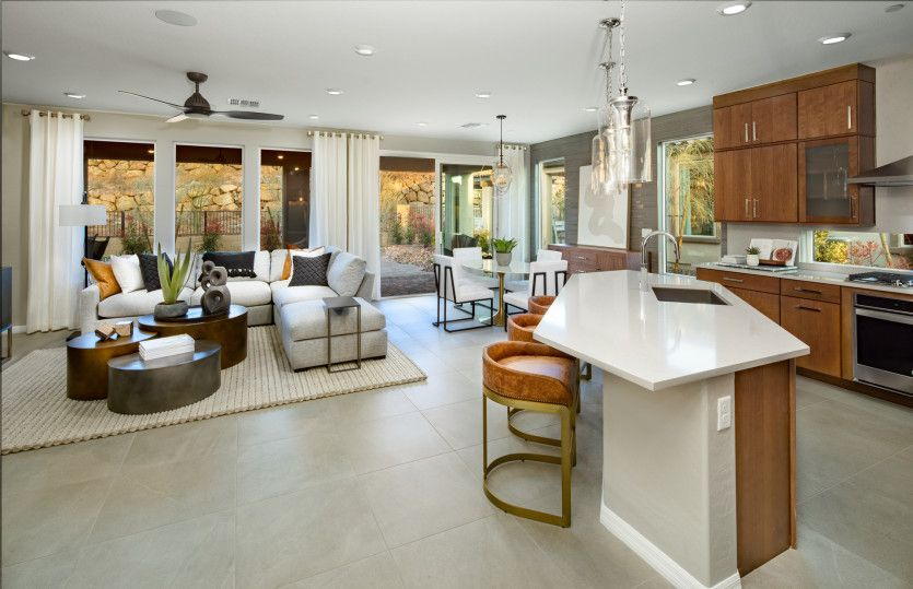 Living Area featured in the Silver Creek By Del Webb in Las Vegas, NV