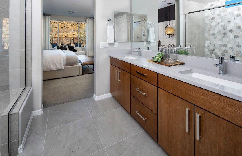 Bathroom featured in the Silver Creek By Del Webb in Las Vegas, NV