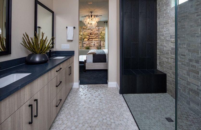 Bathroom featured in the Tifton Walk By Del Webb in Las Vegas, NV