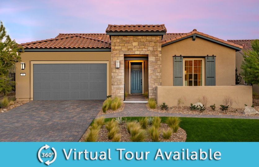 Exterior featured in the Parklane By Del Webb in Las Vegas, NV