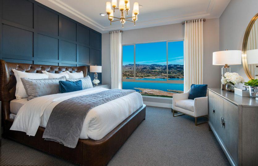 Bedroom featured in the Parklane By Del Webb in Las Vegas, NV