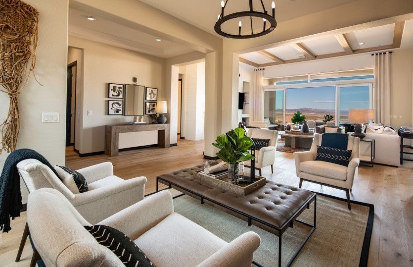 Living Area featured in the Journey By Del Webb in Las Vegas, NV