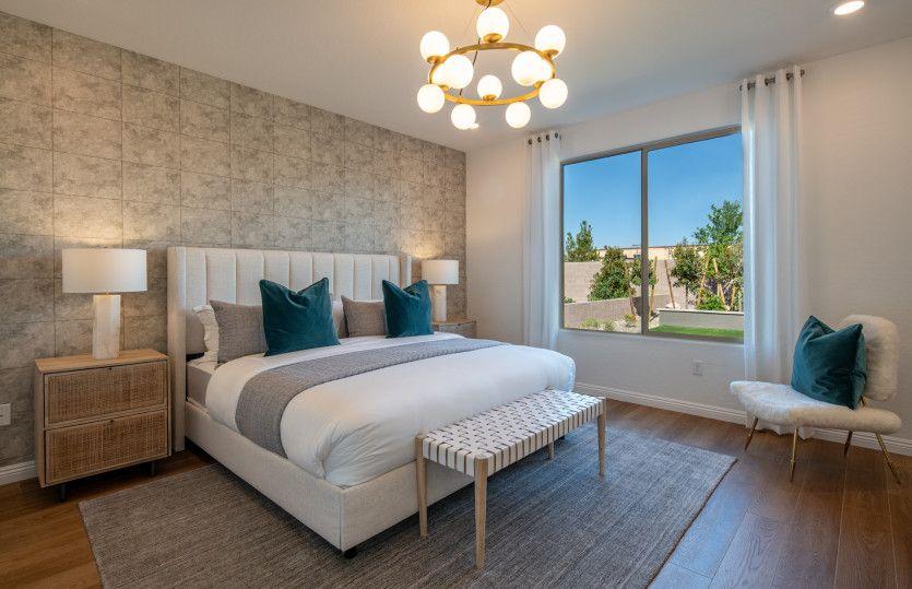 Bedroom featured in the Overlook By Del Webb in Las Vegas, NV