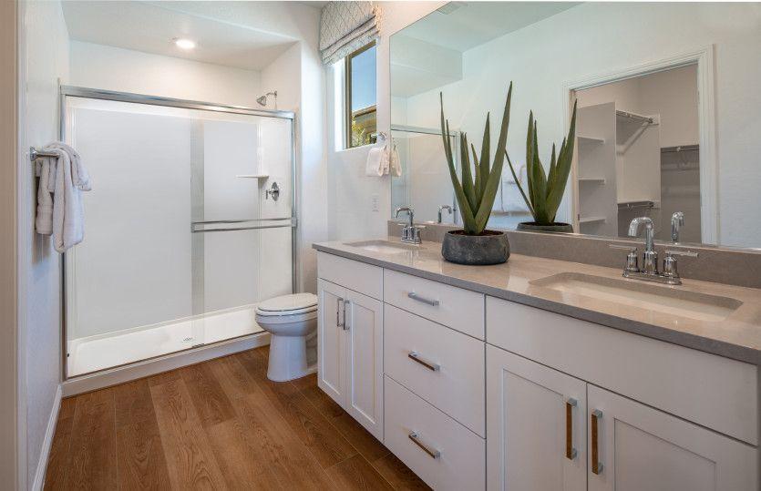 Bathroom featured in the Overlook By Del Webb in Las Vegas, NV