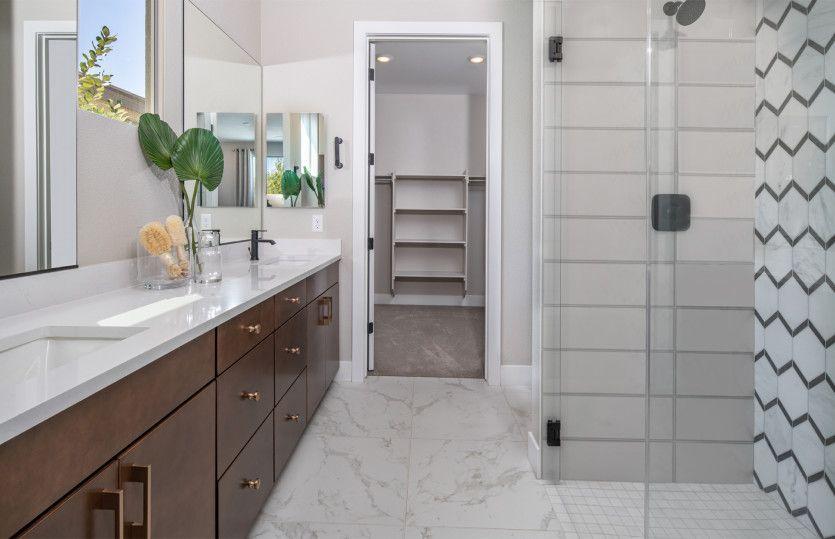 Bathroom featured in the Peak By Del Webb in Las Vegas, NV