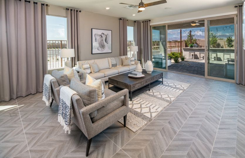 Living Area featured in the Getaway By Del Webb in Las Vegas, NV