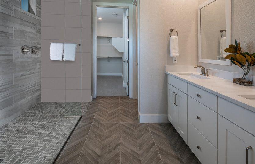 Bathroom featured in the Getaway By Del Webb in Las Vegas, NV