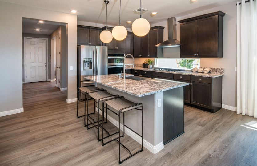 Kitchen featured in the Solitude By Del Webb in Las Vegas, NV