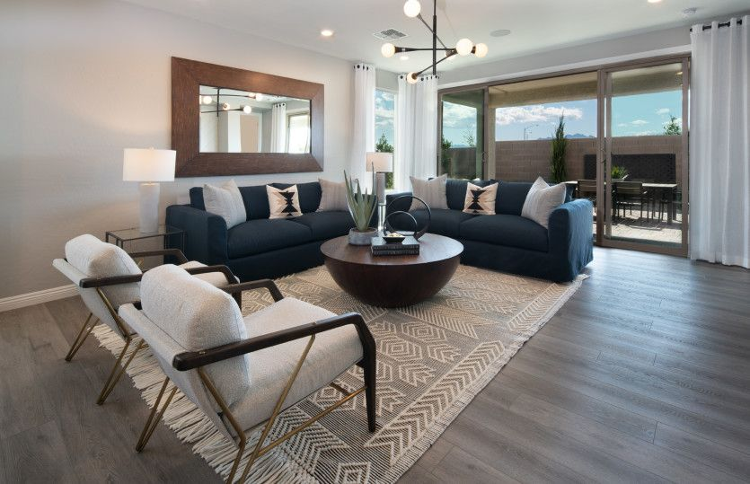 Living Area featured in the Solitude By Del Webb in Las Vegas, NV