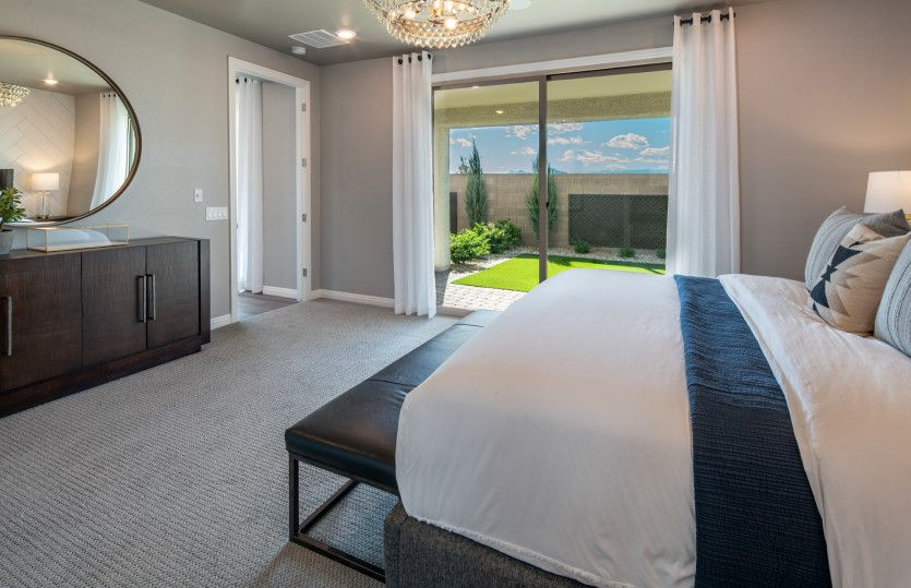 Bedroom featured in the Solitude By Del Webb in Las Vegas, NV