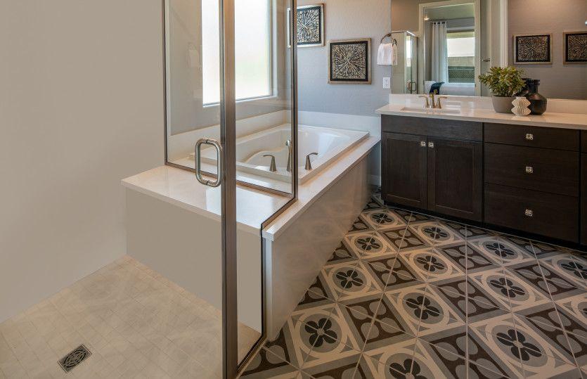 Bathroom featured in the Solitude By Del Webb in Las Vegas, NV