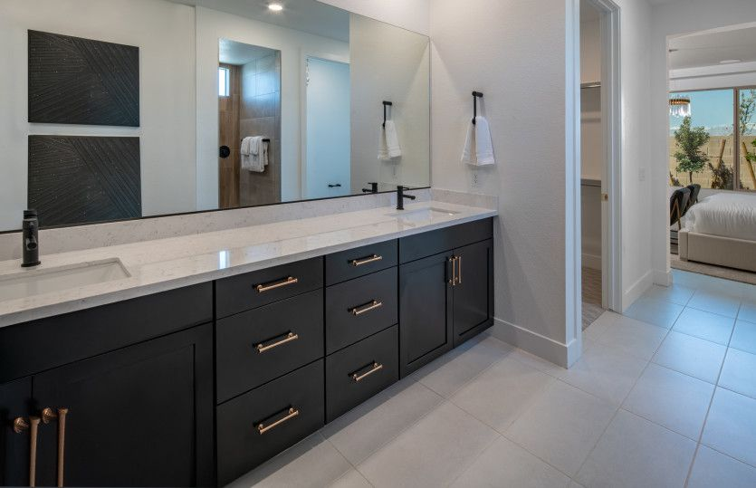 Bathroom featured in the Expedition By Del Webb in Las Vegas, NV