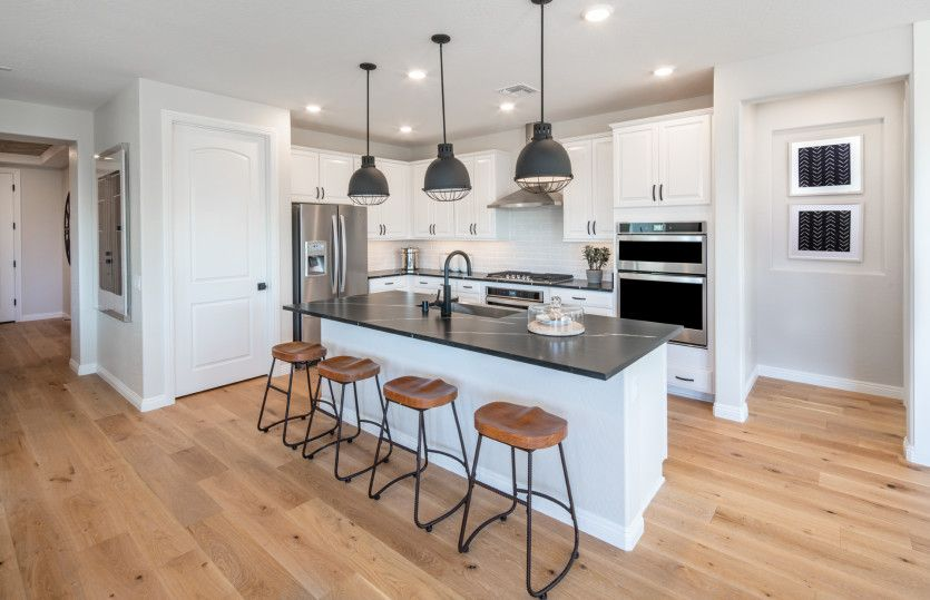 Kitchen featured in the Sanctuary By Del Webb in Las Vegas, NV