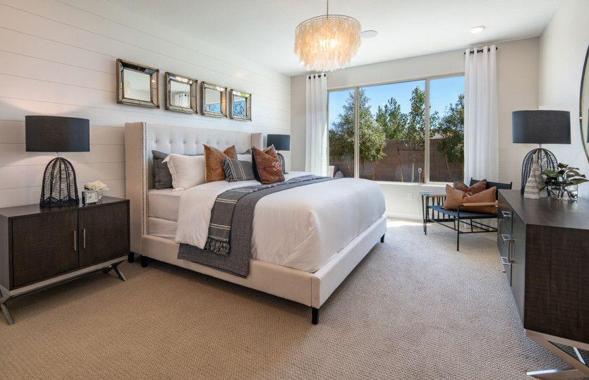 Bedroom featured in the Sanctuary By Del Webb in Las Vegas, NV