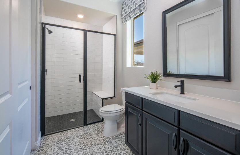 Bathroom featured in the Sanctuary By Del Webb in Las Vegas, NV