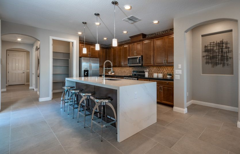Kitchen featured in the Haven By Del Webb in Las Vegas, NV