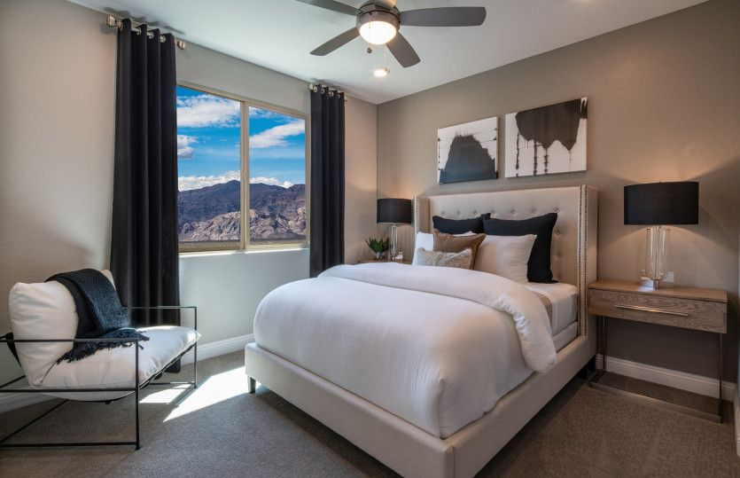 Bedroom featured in the Haven By Del Webb in Las Vegas, NV